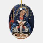 Virgen de la Altagracia Ornamento Personalizado