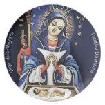 Virgen de la Altagracia Plate II Platos De Comidas