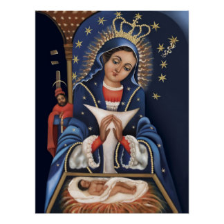 Virgen de la Altagracia Poster