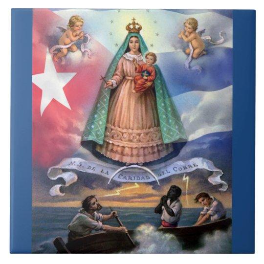 Virgen De La Caridad Del Cobre Tile Zazzle Com