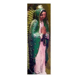 Virgen de la señal de Guadalupe Tarjetas De Visita Mini