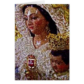 VIRGEN DE LAS MERCEDES GREETING CARD