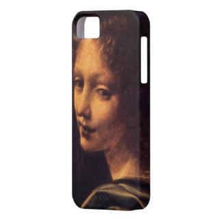 Virgen de las rocas - ángel funda para iPhone SE/5/5s