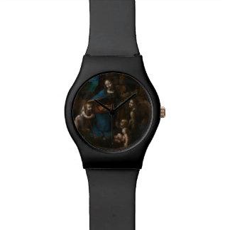 Virgen de las rocas de Leonardo da Vinci Reloj