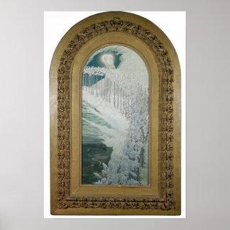 Virgen de los lirios, 1899 póster