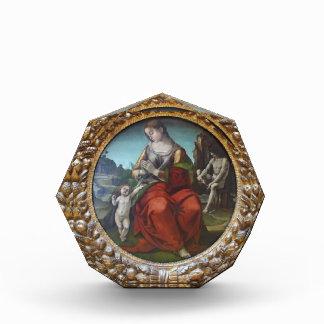 Virgen de Luca Signorelli- con el niño
