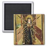 Virgen de siete dolores del altar de la bóveda, 14 imán para frigorífico