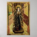 Virgen de siete dolores del altar de la bóveda, 14 poster