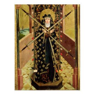 Virgen de siete dolores del altar de la bóveda, postales