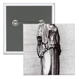 Virgen de vestal, c.1653 pin cuadrado
