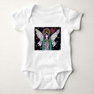 Virgen del ángel del arte de Guadalupe por el Playera