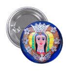 Virgen del botón del corazón de Guadalupe Pins