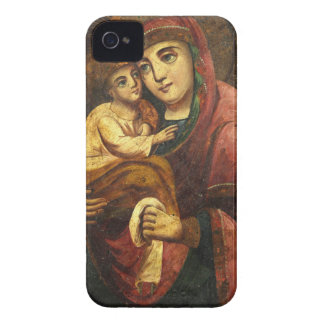 Virgen del icono del ucraniano de Pochayiv iPhone 4 Protector