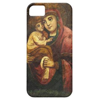 Virgen del icono del ucraniano de Pochayiv iPhone 5 Funda