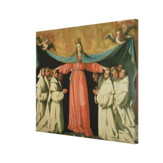 Virgen del Misericordia Impresión En Lienzo