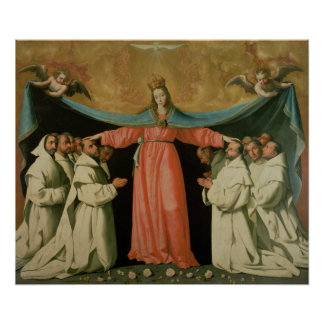 Virgen del Misericordia Póster