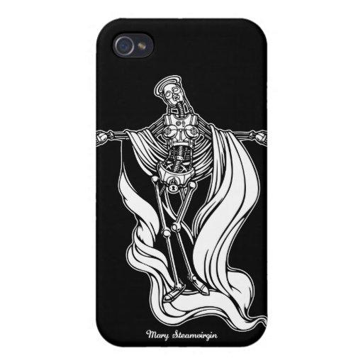 Virgen del vapor de Maria iPhone 4 Coberturas