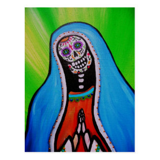 virgen guadalupe BY PRISARTS Postcard