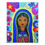 """Virgen Guadalupe Invitación 4.25"""" X 5.5"""""""