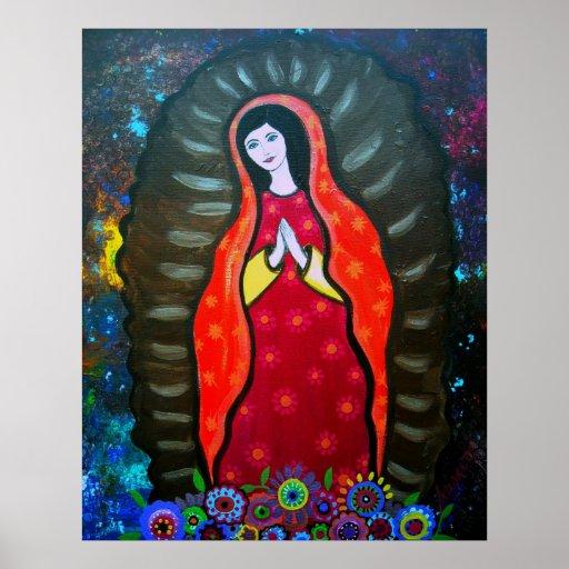 Virgen Guadalupe Poster