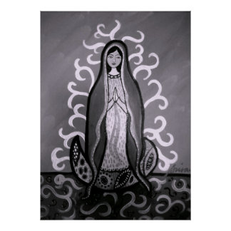 VIRGEN GUADALUPE POSTERS PRINT