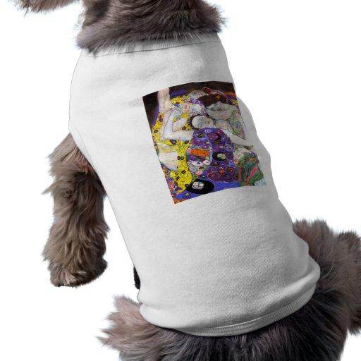 Virgen, Gustavo Klimt Camisetas De Perro