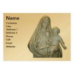 Virgen María 1 tarjeta de visita