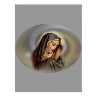 Virgen María 2 Tarjetas Postales
