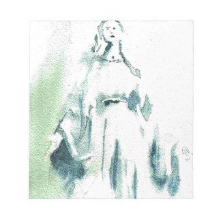 Virgen María bendecido Bloc De Notas