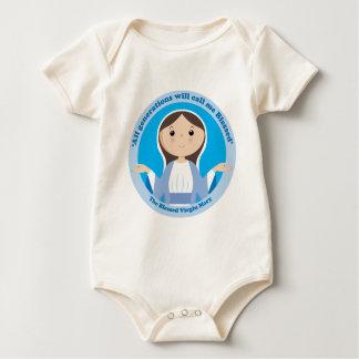 Virgen María bendecido Body De Bebé