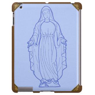 Virgen María bendecido de la madre Funda Para iPad