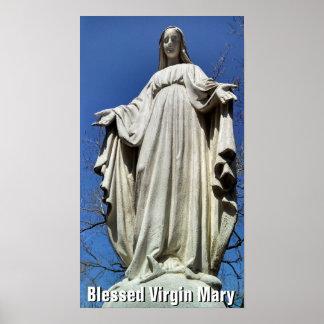 Virgen María bendecido II Posters