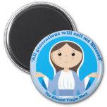Virgen María bendecido Imán Para Frigorifico