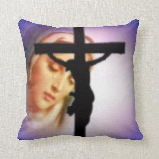 Virgen María bendecido - madre de dios Cojines