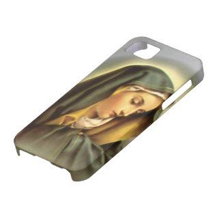 Virgen María bendecido - madre de dios iPhone 5 Case-Mate Funda