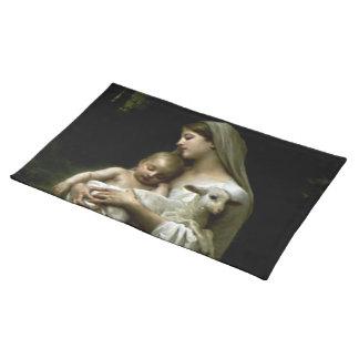 Virgen María bendecido - madre de dios Mantel Individual
