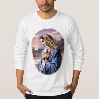 Virgen María bendecido - madre de dios Playeras