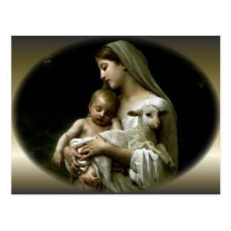 Virgen María bendecido - madre de dios Postales