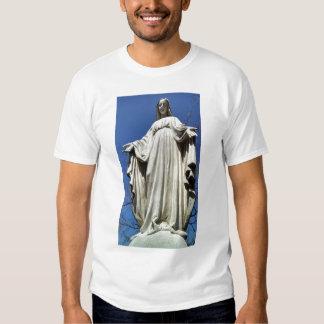 Virgen María bendecido Playeras