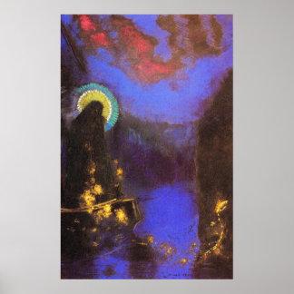 Virgen María con la pintura del Symbolist de la co Impresiones