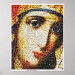 Virgen María con los santos Impresiones