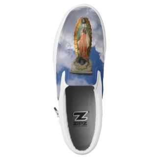 Virgen María de los zapatos de Guadalupe Zapatillas