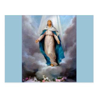 Virgen María, Jesús y dioses santos madre, Santa Postal