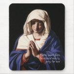 Virgen María Mousepad con rezo Alfombrillas De Raton