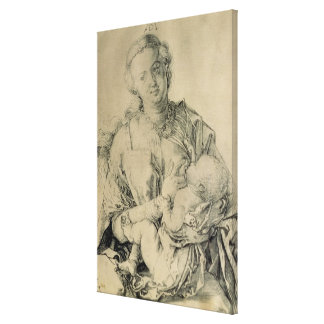 Virgen María que amamanta al niño de Cristo, 1512 Impresiones En Lona Estiradas