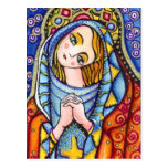 Virgen María Tarjeta Postal