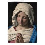 Virgen María/Virgen Maria Tarjeta De Felicitación