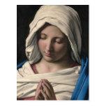Virgen María/Virgen Maria Tarjetas Postales