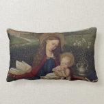 Virgen María y bebé Jesús Almohadas