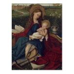 Virgen María y bebé Jesús Postales